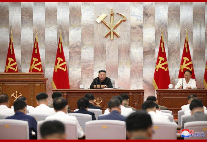 north, korea, kim, jong, un, typhoon, meeting