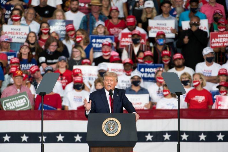 Donald Trump North Carolina rally