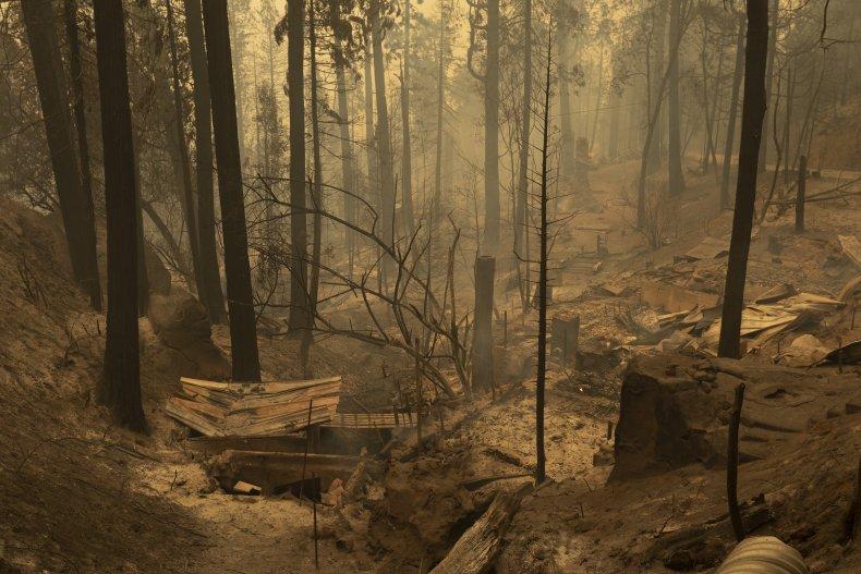 Creek Fire California Shaver Lake September 2020
