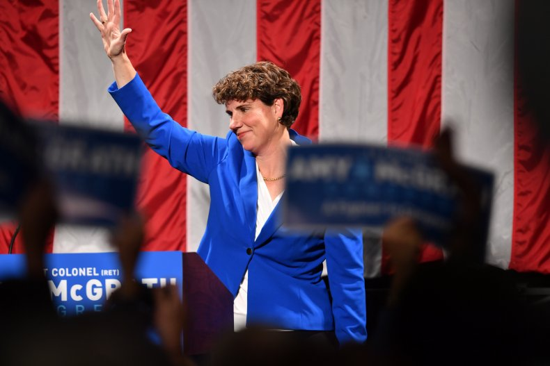 amy mcgrath august fundraising numbers