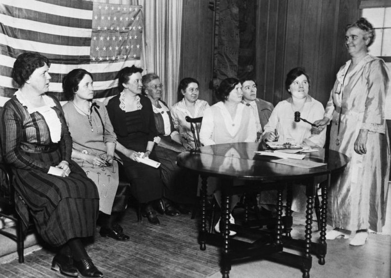 1903: Workers form the National Women's Trade Union League