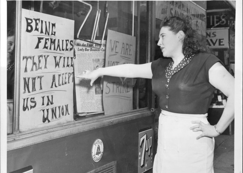 1948: Court allows bans on women in certain industries