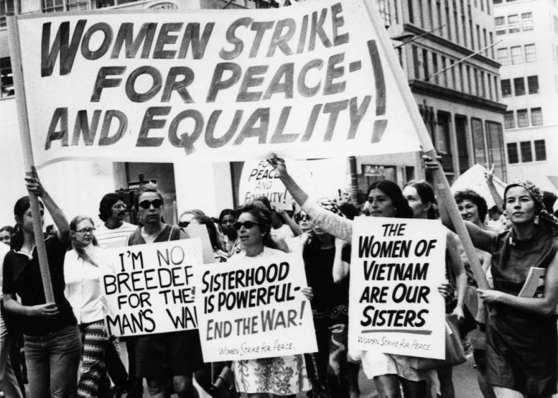1970: Women workers participate in nationwide demonstrations