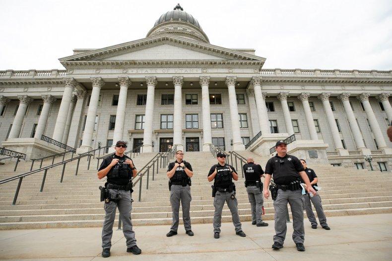 salt lake city Utah police protests 2020