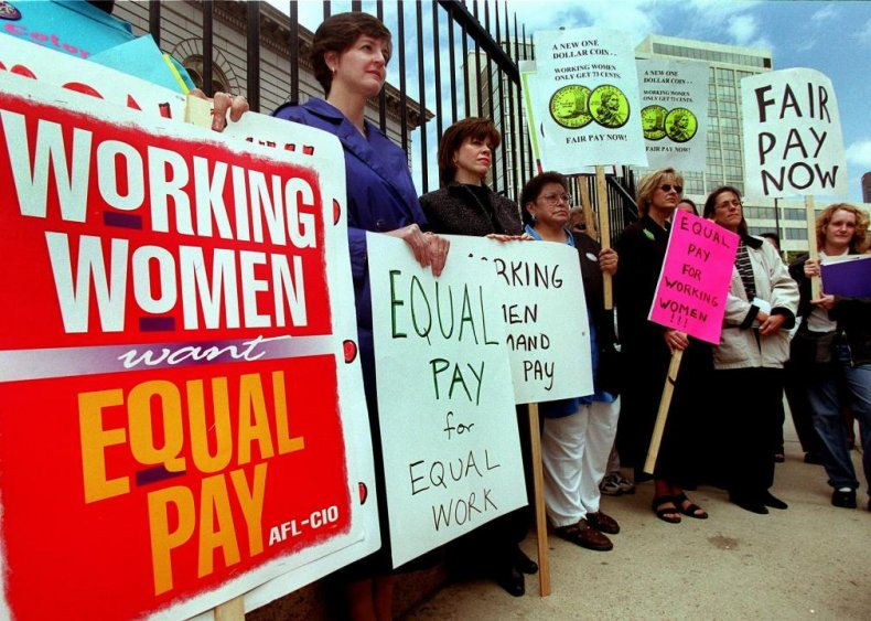 1996: Equal Pay Day gets added to the calendar