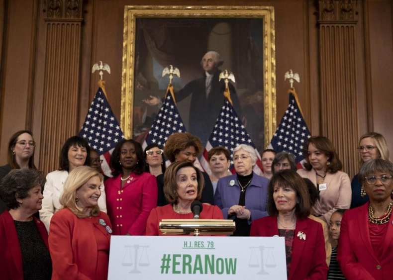 2020: Government removes deadline on Equal Rights Amendment