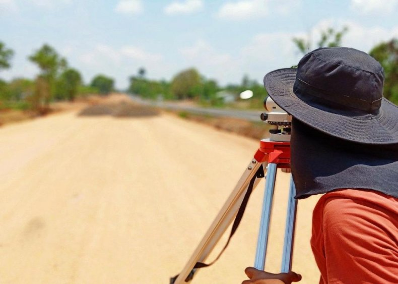 Surveyors and mapping technicians