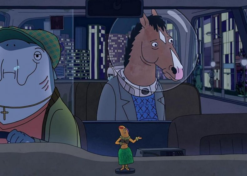 #100. BoJack Horseman - 'Fish Out of Water'