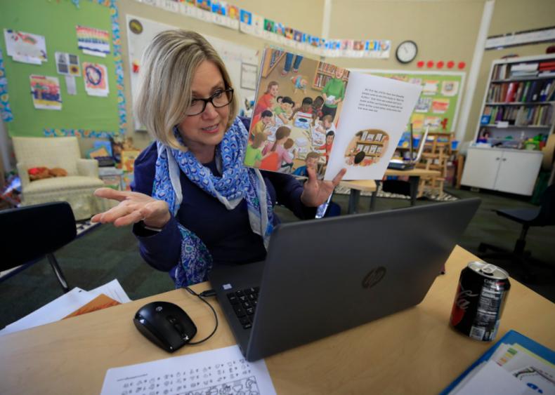 Average time spent teaching children: Overall