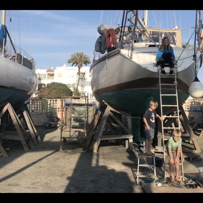 Sailing, Sea, Family, Family life