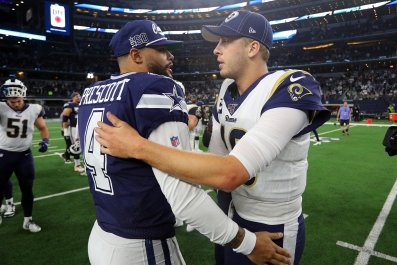 Dak Prescott, Dallas Cowboys, Jared Goff
