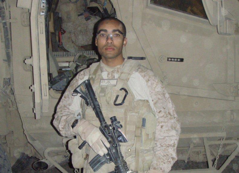 U.S. Marine Kyle Bibby