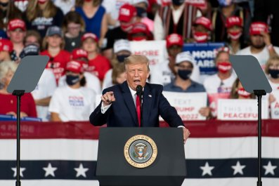 Donald Trump Rally NC