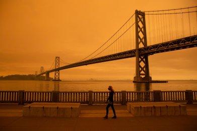 Orange Sky San Francisco