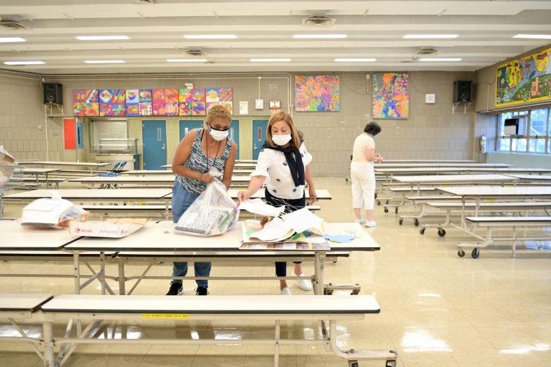 New York City Teachers Return To School
