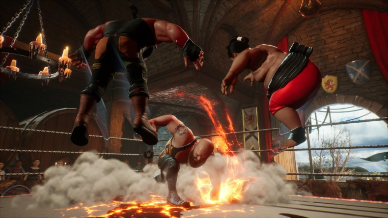 WWE 2K Battlegrounds Big Show Earthquake