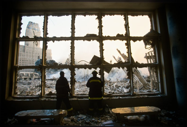 The Rubble of the World Trade Center