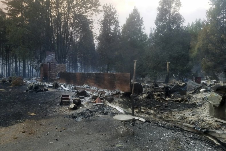 Holiday Farm Fire in Oregon
