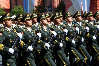 Parade unit of Chinese Armed Forces