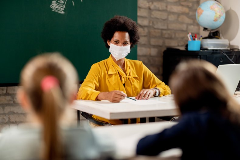 Teacher deaths COVID-19 facemask infection epidemic