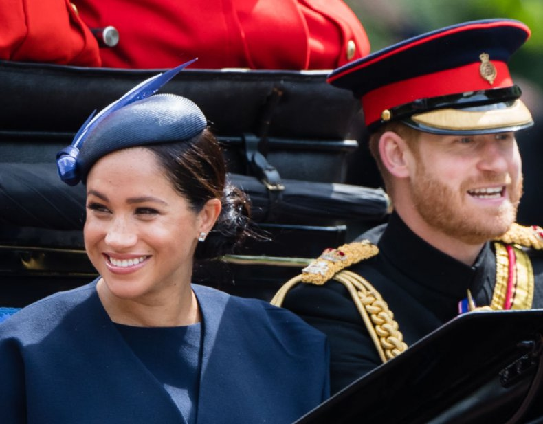 Meghan Markle, Prince Harry, Trooping the Color