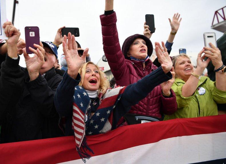 Donald Trump Supporters in Michigan