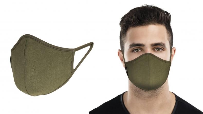 MasQd Olive Face Mask