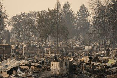 Getty Images Oregon Phoenix Fires