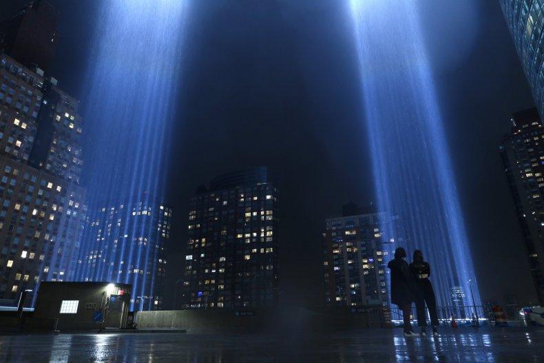 9/11 Memorial Tribute in Light