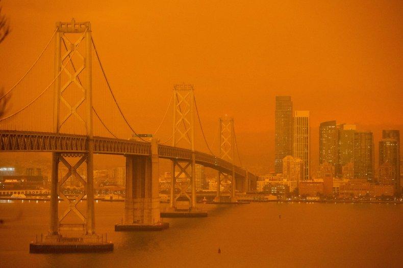 The San Francisco Bay Bridge