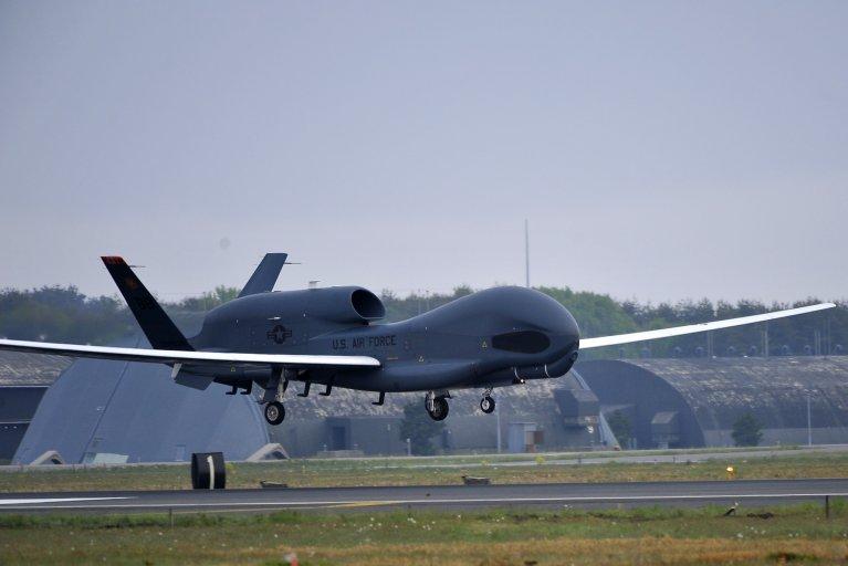 US, Iran, drone, drills, warning, shoot, down