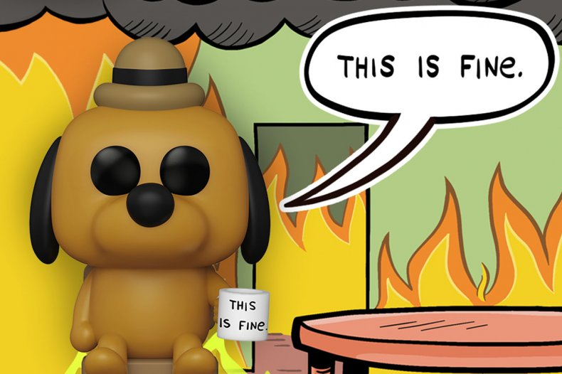 Funko Icons This is Fine Dog 2020