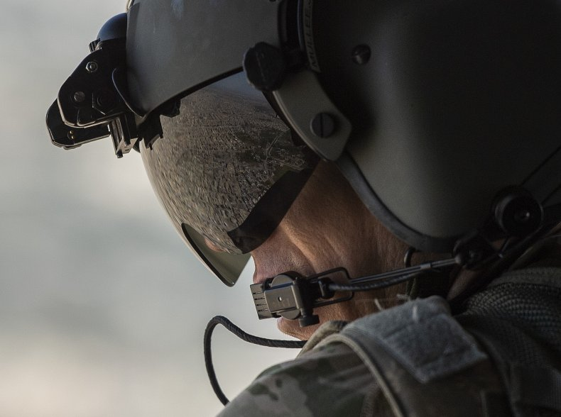 U.S. Army Helicopter Crew Member
