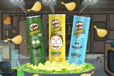 Pringles Rick & Morty Trifecta Flavors