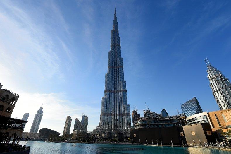 Burj Khalifa Dubai Gender Reveal
