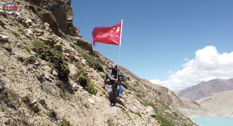 china, peoples, liberation, army, tibet, mountains
