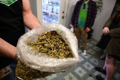 Marijuana in Los Angeles dispensary