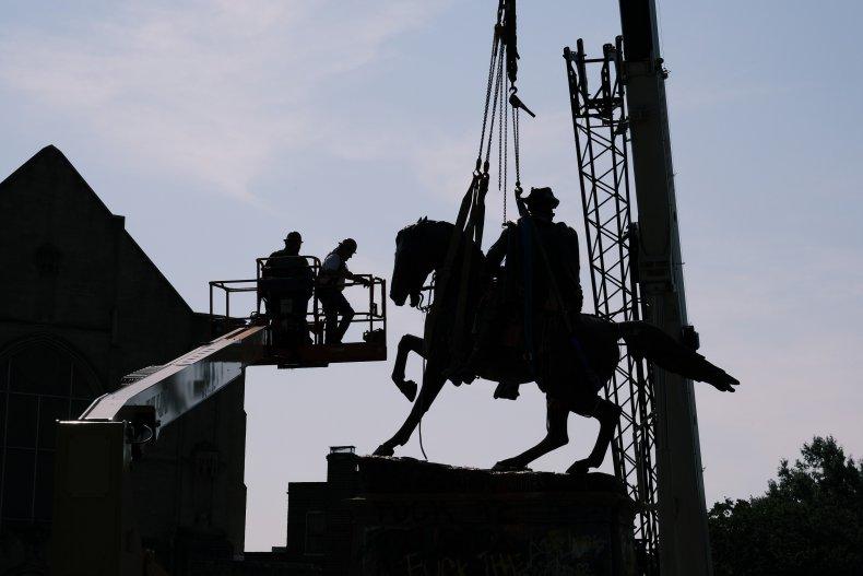 Richmond Statue Removal