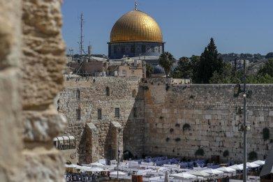 Western Wall in Old City of Jerusalem