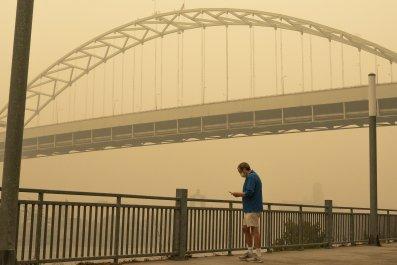 portland oregon air quality worst