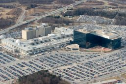 NSA headquarters in Maryland, viewed in 2010