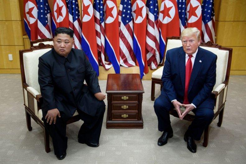 Kim Jong Un and Donald Trump Meet