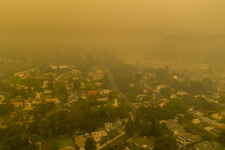 California Wildfire Smoke