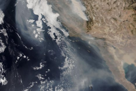 wildfire smoke, California