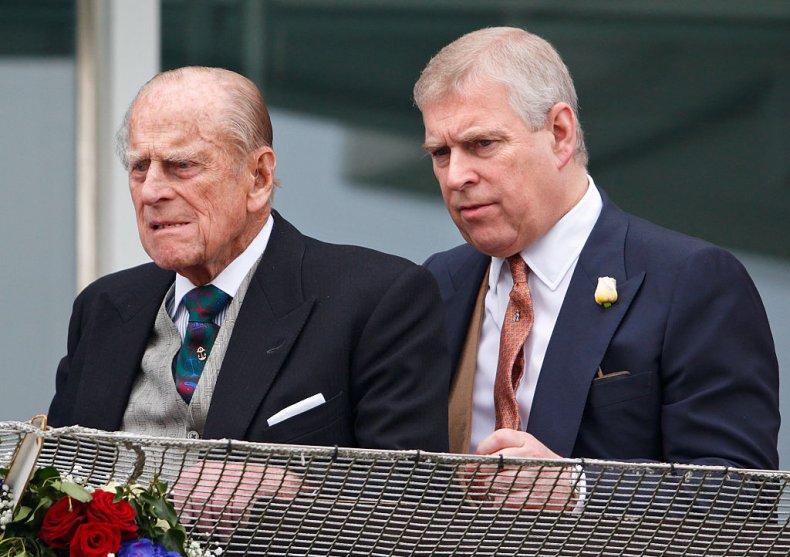 Prince Philip, Prince Andrew, Epsom Derby