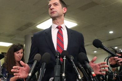 Senator Tom Cotton of Arkansas