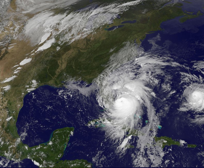 Hurricane Matthew Florida NOAA satellite October 2016