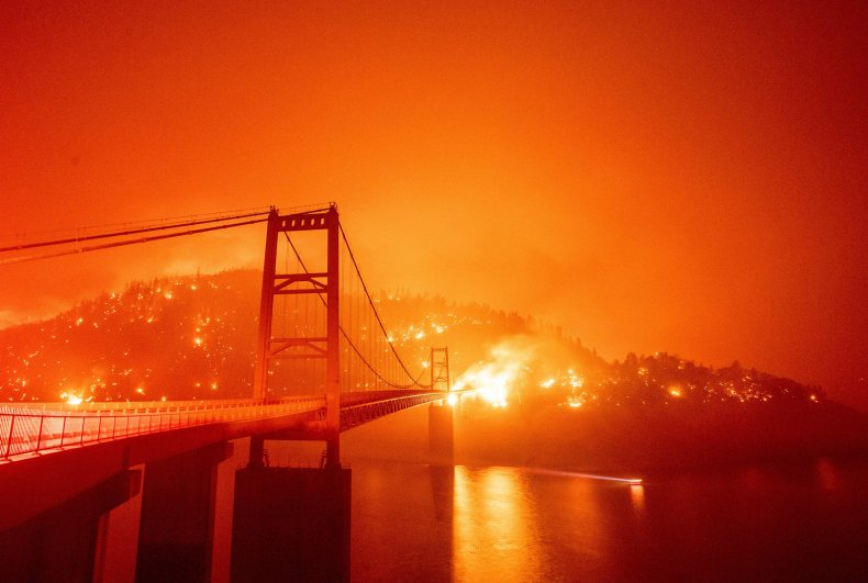 Bear Fire, Oroville, California