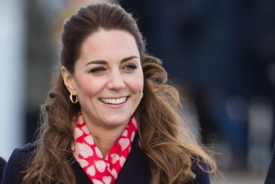 Kate Middleton in Swansea, South Wales