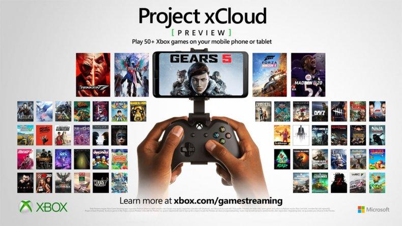 xbox cloud gaming xcloud games